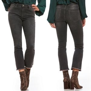 Free People | NWT Cropped Straight Leg Jeans